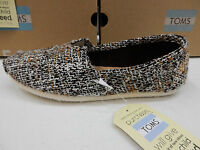 Toms Womens Classic Mix Boucle Natural Size 9