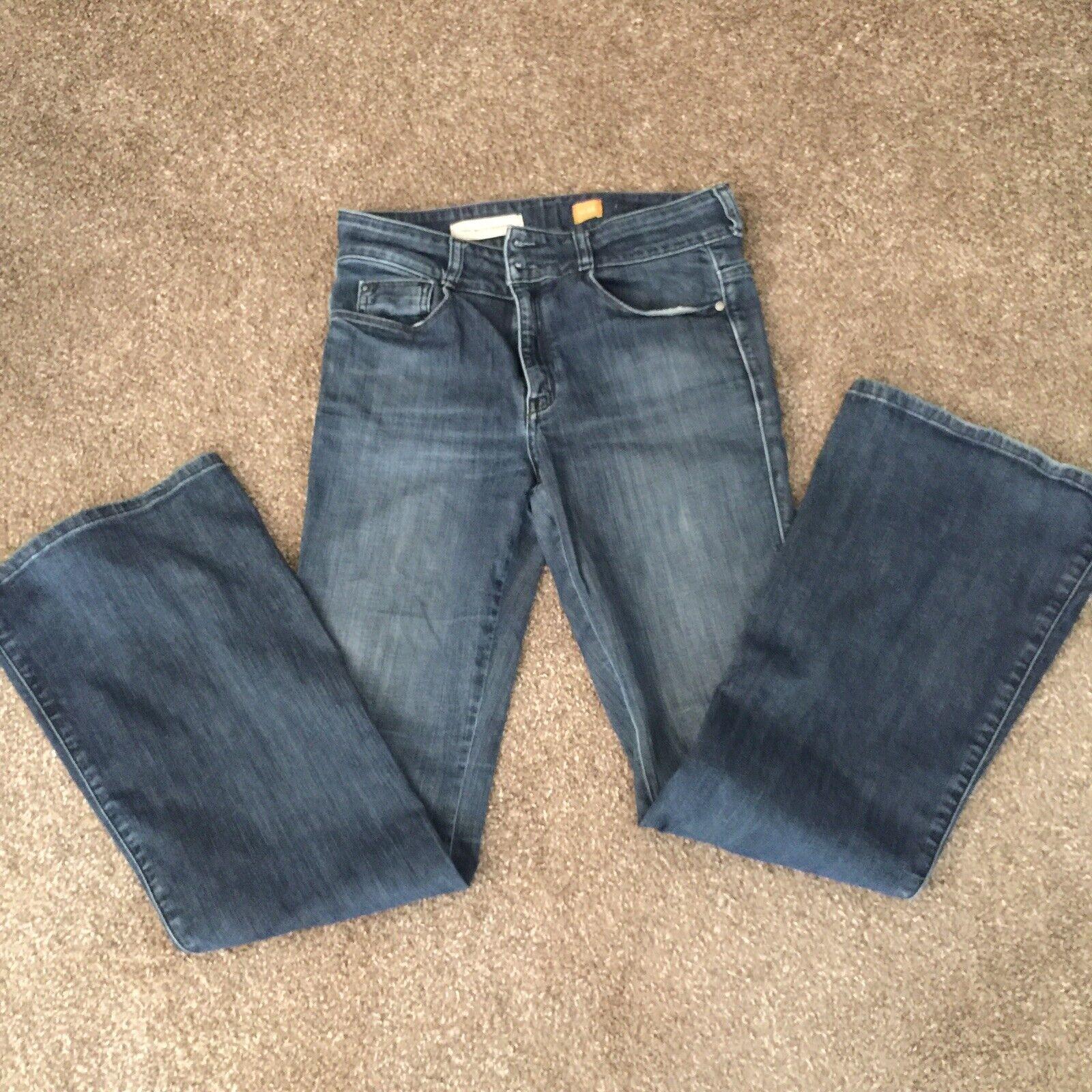 Anthropologie Pilcro & The Letterpress Flare Classic Boho Hippie Jeans size 29