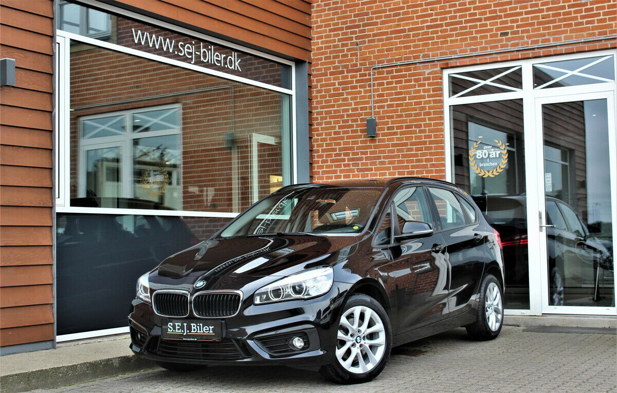 BMW 220d 2,0 Active Tourer Advantage aut. 5d - 249.800 kr.