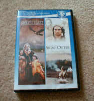 spirit Of The Eagle And  Sign Of The Otter Movies On Dvd (brand New)