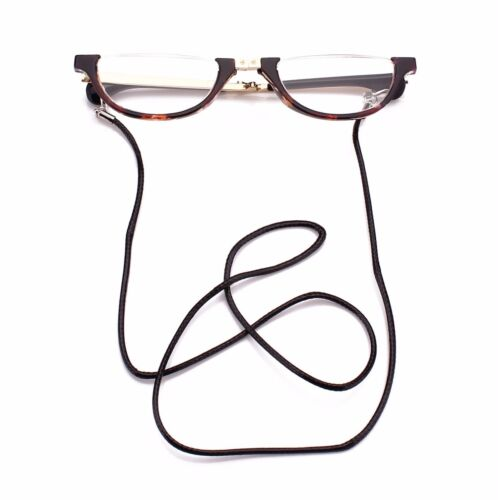 1b7d5023f32 1 of 9FREE Shipping Half Moon Mens Women Wrap Neck Round Foldable Reading  Glasses