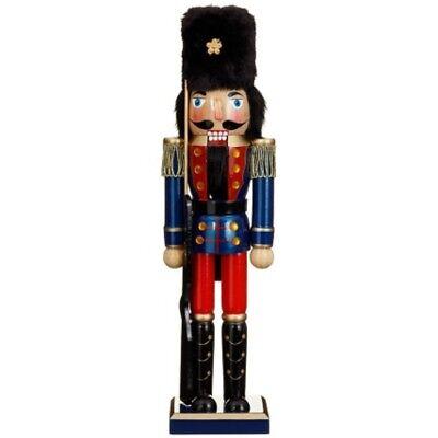 Christmas Nutcracker Wooden Soldier Deluxe 38 Cms 15 New Ebay