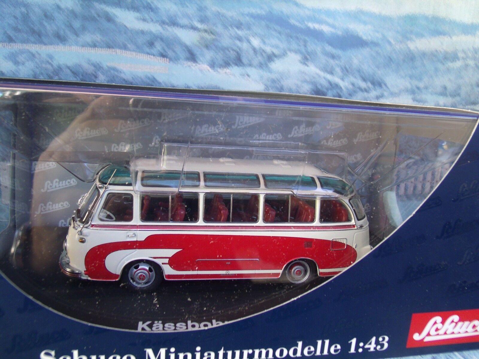 1 43  Schuco (Germany) SETRA S6 BUS SALOON 1955
