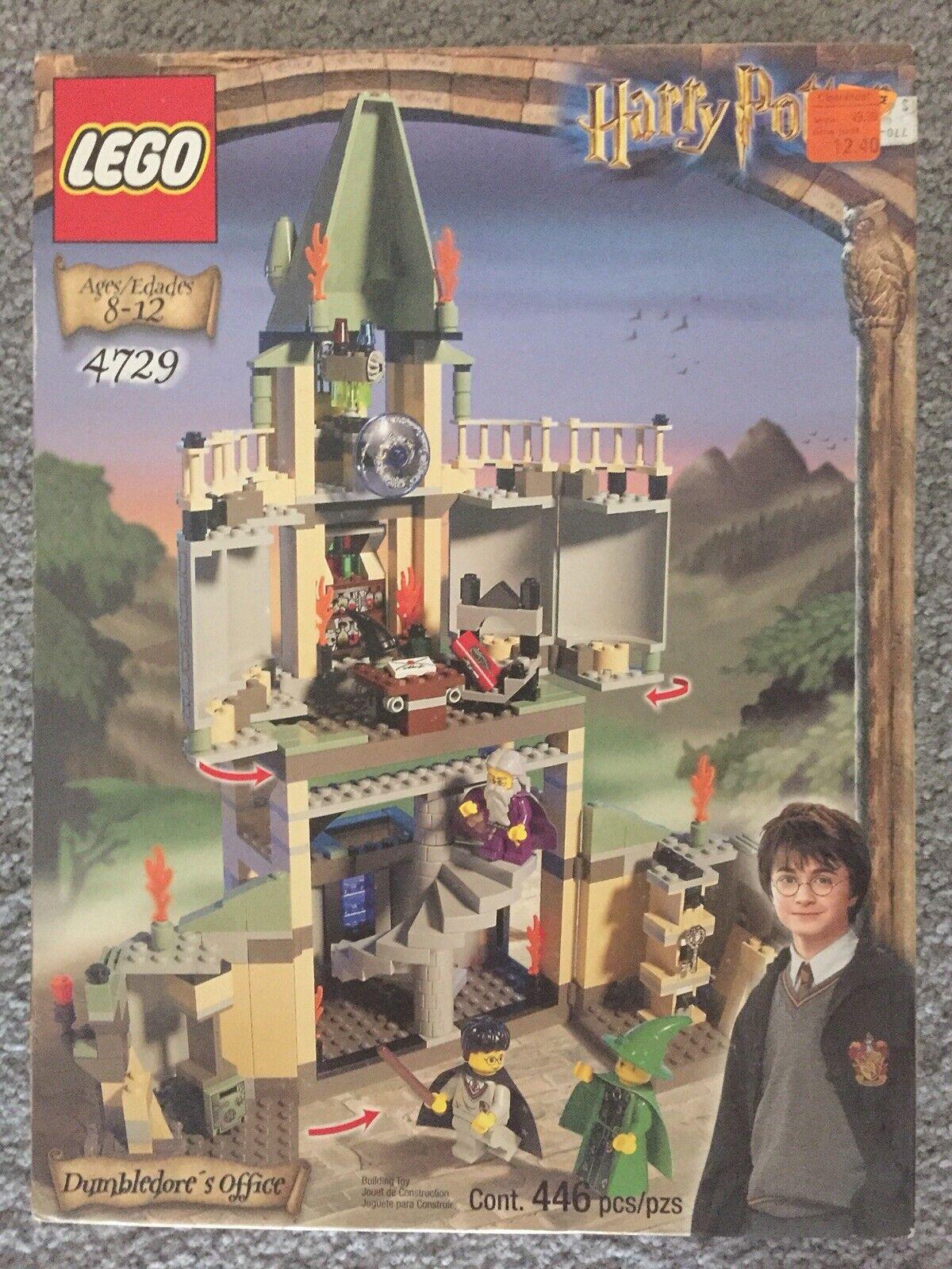 Lego Harry Potter y la piedra mágica 4729 Oficina de Dumbledore