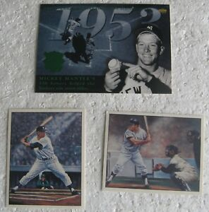 Details About 3 Mickey Mantle Cards 1994 Upper Deck As Fanfest Jumbo 1986 Tcma Simon 724