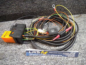 defender heated wind screen wiring harness relay with