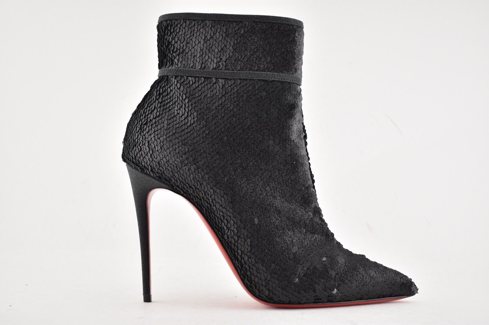 69c97d7b747e Christian Louboutin Moulakate 100 Sequin Bootie 39 Black for sale ...