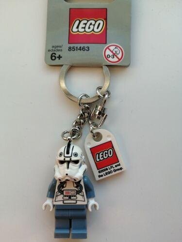 GREY TAG GENUINE LEGO STAR WARS CLONE PILOT MINIFIGURE KEYRING KEYCHAIN RARE