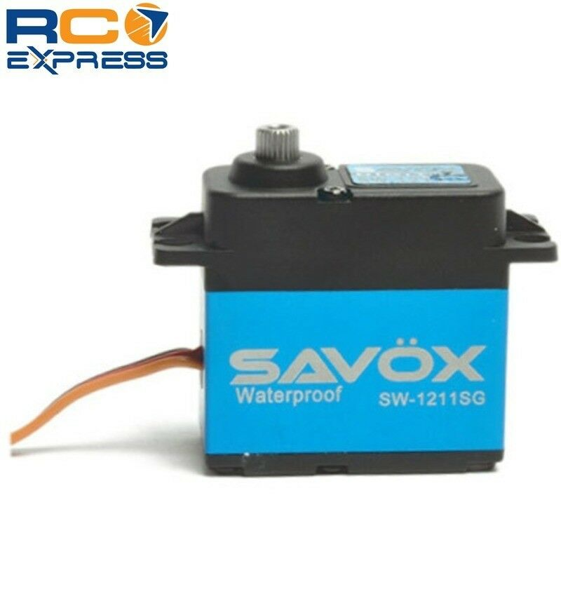 Savox Waterproof Coreless Digital Servo .10 208.3 Aluminum Case SAVSW1211SG