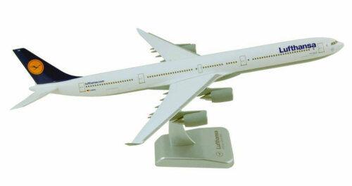 Lufthansa Airbus a340-600 1:200 HOGAN Wings modello di aereo NUOVO a340 2496 LH lh02