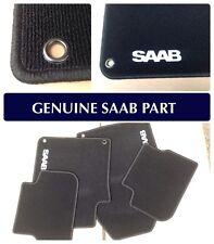 GENUINE SAAB 9-3 4 & 5 DOOR MAT SET - 2003 -2012 LEFT HAND DRIVE 12825832 NEW