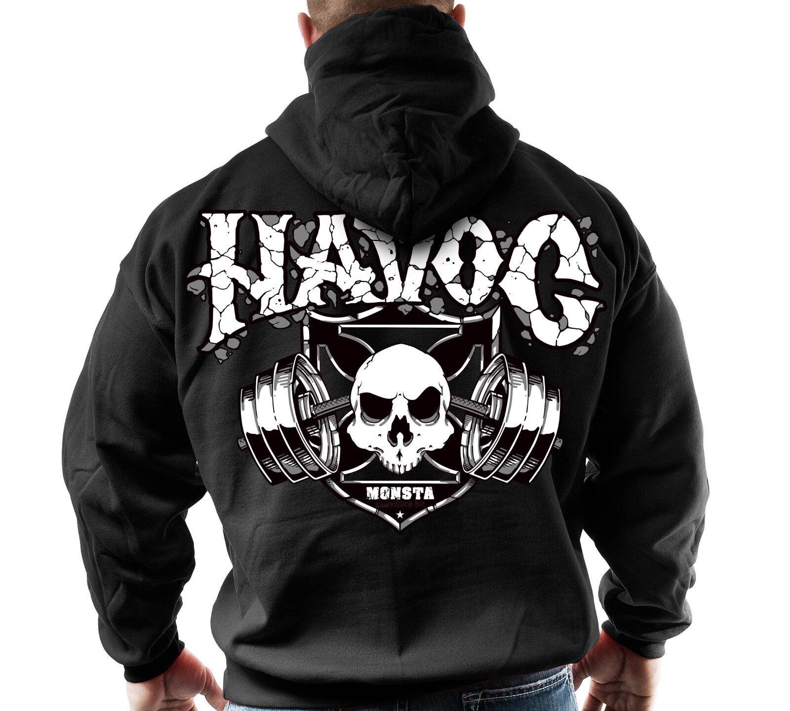 Monsta Clothing Fitness Gym Zipper Hoodie - Havoc