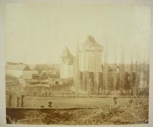 Vers 1870 Château dans le Berry Bourges photographie ancienne tirage albuminé ThuqaG92-09163251-636497084