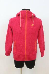 Kari Traa Women`s AUKA Wool Fleece Hooded Outdoor Jacket sz Large