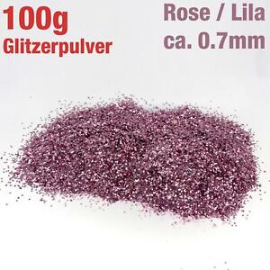 100g-Gramos-Glitzerpulver-Brillante-Suave-Rosa-Purpura-Color-Artesanal-Art-Deco
