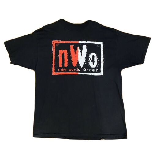 Vintage VTG WWF WCW NWO Shirt XXL