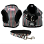 Soft-Cotton-Padded-Step-in-Dog-Harness-amp-Leash-Set-Puppy-Walking-Harness-Vest thumbnail 15