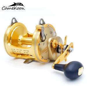 CAMEKOON-Saltwater-Star-Drag-Fishing-Reel-RIGHT-HAND-Sea-Drum-Boat-Trolling-Reel