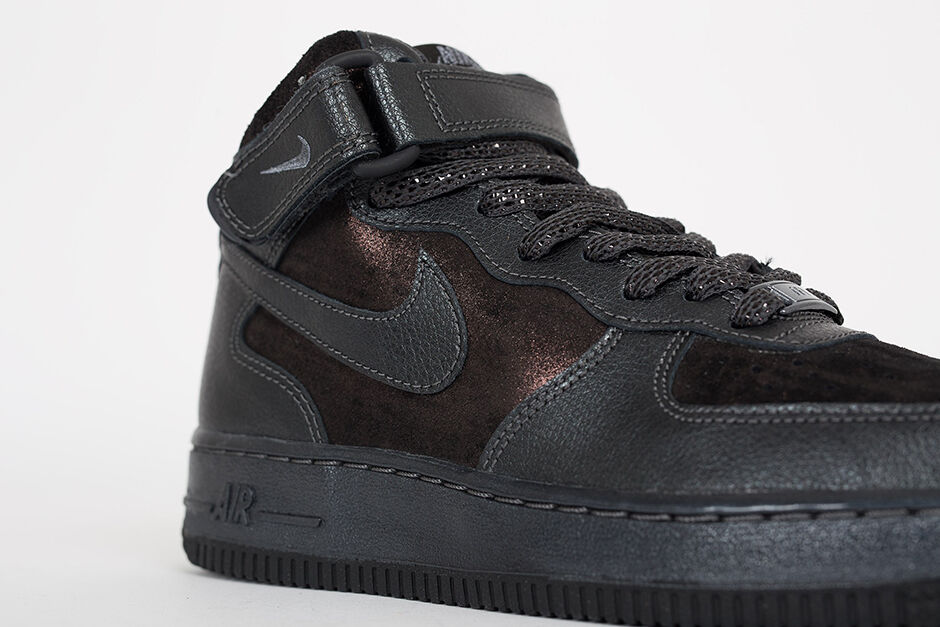 nike mi air force 1 07 mi nike - grp est un peu brillante chaussures taille 7,5 805292-001 wmn 001a50