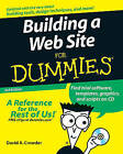 Building a Web Site For Dummies by David A. Crowder (Paperback, 2007)