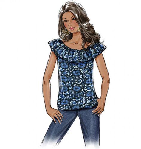 Butterick - 4685-M Butterick Sewing Pattern 4685 verano señoras de fácil Prendas para el torso