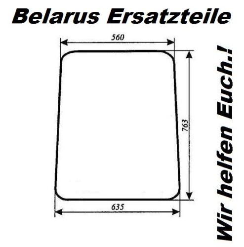 Scheibe Glasscheibe Seitenscheibe 560 x 763 x 635 NEU MTS Belarus Große Kabine
