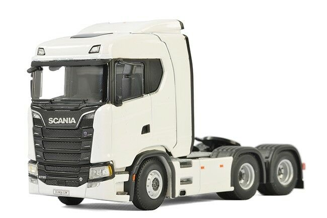WSI COLLECTIBLES SCANIA S NORMAL CS20N CAB UNIT 6X2 TAG AXLE WHITE 03-2006