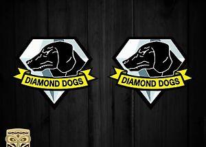 PEGATINA STICKER  AUTOCOLLANT ADESIVI AUFKLEBER DECAL DIAMOND DOGS