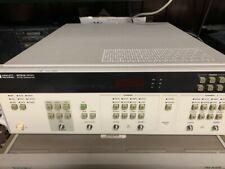 Hewlett Packard Hp 8131a 500mhz Pulse Generator Opt 020 2nd Channel