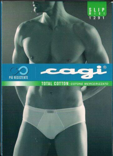 CAGI Slip Classico Sport Medio 1291 Cotone