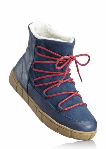 Neu Winter Boots 953743 in Marine//Bordeaux EUR 35