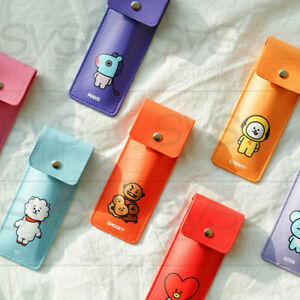 BTS-BT21-Official-Authentic-Goods-PU-Book-Band-Pencilcase-7Characters-by-Kumhong