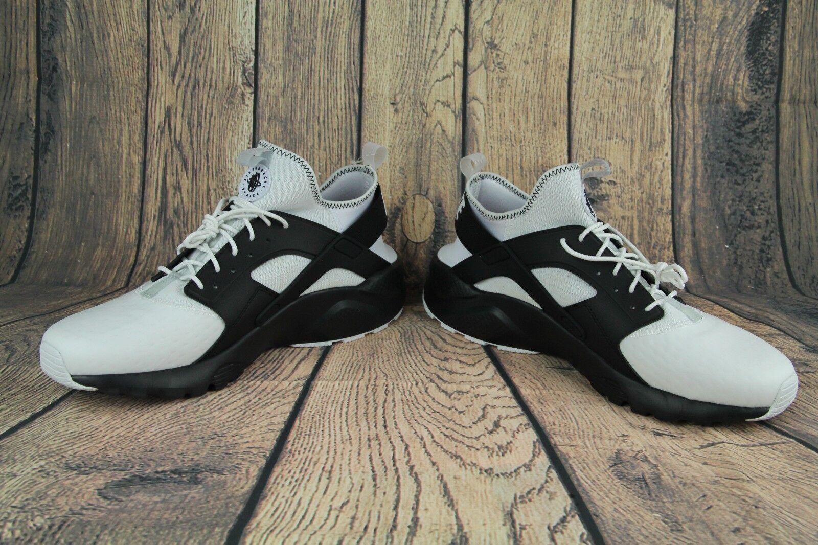 Nike air huarache huarache air laufen ultra - se laufschuhe weiß schwarzer keks 875841-100 sz. b921ad