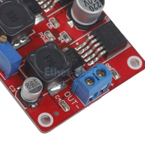Digital Display LM2577S+LM2596S Step Up//Down DC-DC Converter Power Modul
