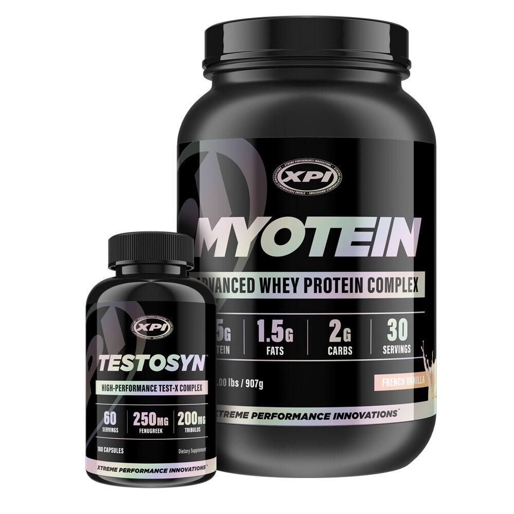 Bodybuilding Supplements Supplements Bodybuilding Top Sellers Kit- Myotein Protein 2LBS (Van) & Testosyn fb092d