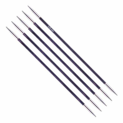 KnitPro Royale Double Pointed Knitting Needles DPNs 20cm Length Set of 5