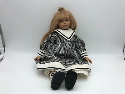 Dolls & Bears ⭐️⭐️ Top Zustand Chills And Pains Rational Heidi Ott ⭐️⭐️ Vinyl Puppe 32 Cm Art Dolls-ooak