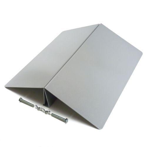 Aufsteller für Werbebanner Stahl 600mm Breit