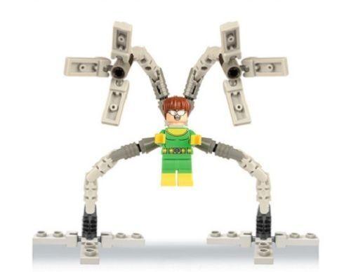 Doctor Octopus Mini Figures NEW UK Seller Fits Major Brand Blocks Bricks