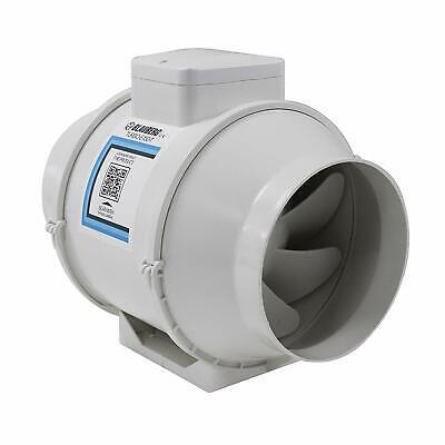 Garden Patio 6 150 Mm Bathroom Shower Mixed Flow Inline Loft Mounted Silent Extractor Fan Desmoinesfencecompany Com