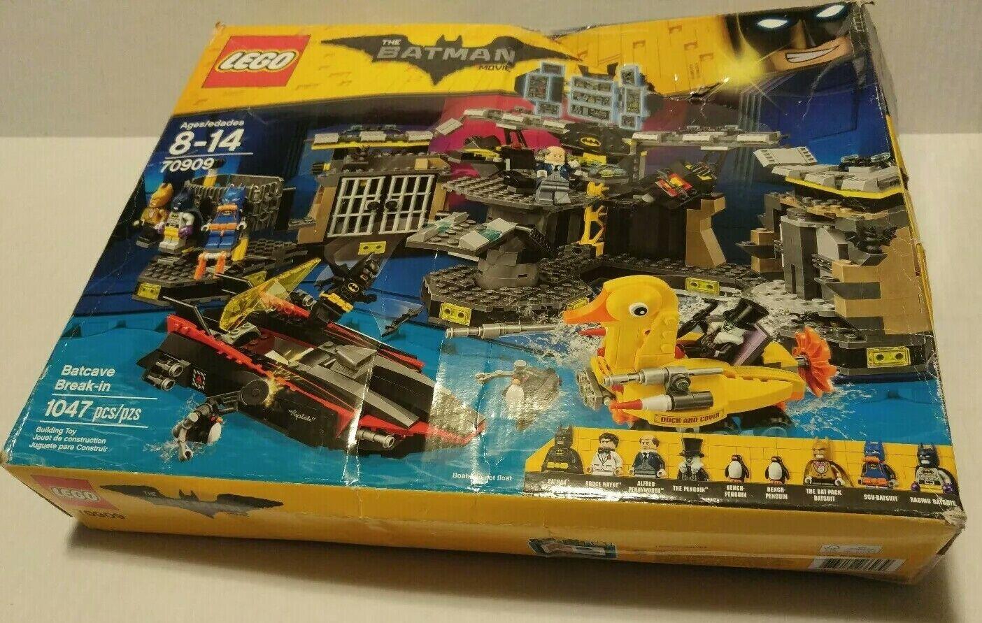 Lego Batman Film Une Batcave BREAK-en 70909. environ 95% COMPLET
