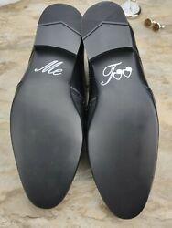 Schuhsticker 'Me Too' – 13 Farben Hochzeit Aufkleber Schuhe Schuh Schuhaufkleber