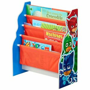 Pj masks sling bookshelf with 4 compartments girls boys bedroom image is loading pj masks sling bookshelf with 4 compartments girls solutioingenieria Choice Image