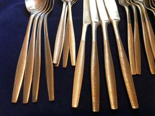CHOICE of Pattern Dansk 20 Piece Stainless Flatware Set Service for 4