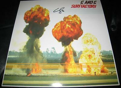 Responsible Colin Cripps C & C Surf Factory Garage City Rock Signed Vinyl © 2015 W/coa Customers First Music