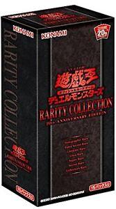 Yugioh Rareté Collection 20th Anniversary Edition Booster Box Yu-Gi-Oh F/S Track