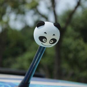Cute-Panda-Car-Antenna-Aerial-Ball-EVA-Topper-Truck-SUV-Pen-Decor-GiftYJUS