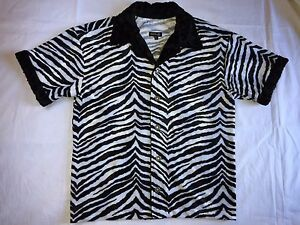 f116f80764b20 Image is loading ZEBRA-PRINT-SHIRT-for-men