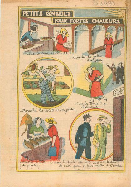 100% De Qualité Caricature Parisienne Salon De Thé Galerie Des Glaces Château De Versailles 1933