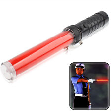 Safety Traffic 3-Mode Control Red LED Baton with Flashlight, Length: 29.5cm